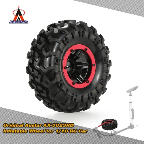 Buy Original Austar AX-3023BU Air Pneumatic Beadlock Wheel Rim Tire 1/10 HSP Tamiya HPI Monster Truck