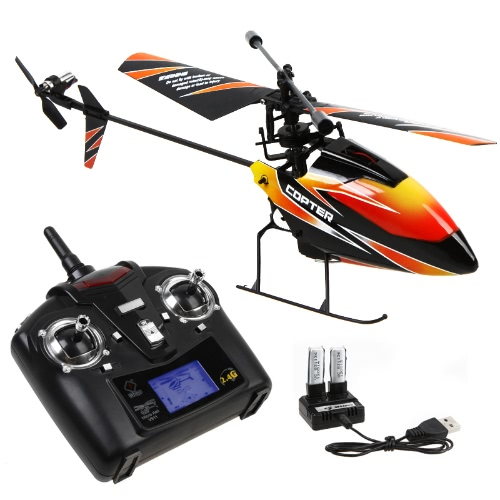 Buy 4CH 2.4GHz Mini RC Helicopter Mode 2 Transmitter