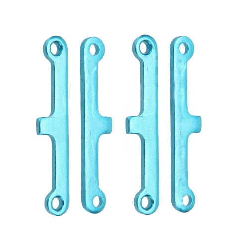 Buy 2 Set 02173 Upgrade Parts Blue Aluminum Suspension Arm Pad HSP 1/10 Car Buggy ATV Truck Truggy Cars