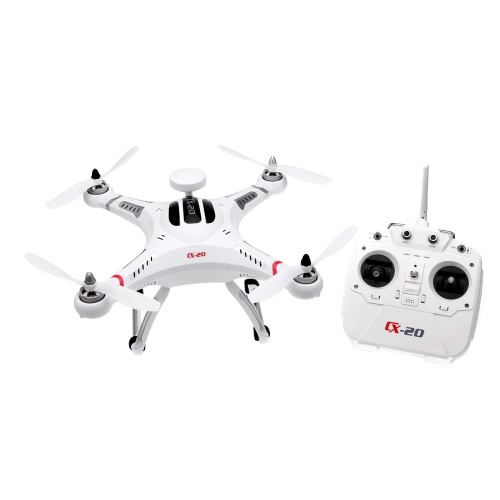 Buy Cheerson CX-20 Auto-Pathfinder 2.4GHz 4CH 6-Axis Gyro RC Quadcopter GPS Headless Mode