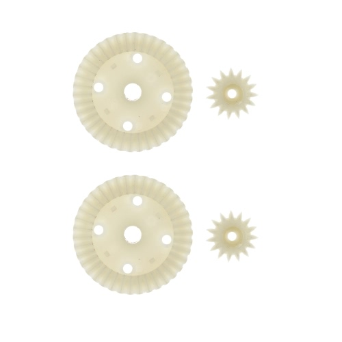 Buy 2 Sets Yikong Parts 18020 Plastic 38/15T Differential Gear 1:18 RC Cars