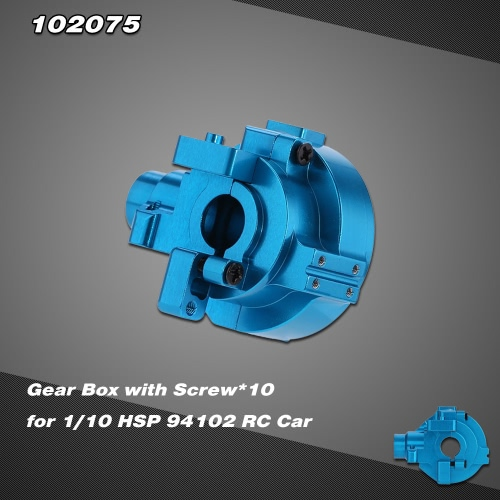 Buy 102075 Upgrade Part Aluminum Alloy Gear Box 1/10 HSP RC Car 94102 Nitro Powered On-road Touring 94110 Off-road Truggy