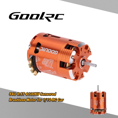 Buy GoolRC 540 8.5T Sensored Brushless Motor 1/10 On-road Drifting Off-road Buggy
