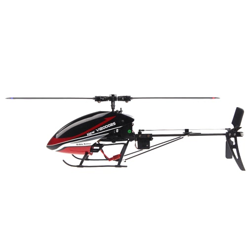 Walkera New V120D02S 2.4G 6 Axis System 6CH 3D RTF Flybarless Red RC Helicopter w/ White DEVO 10 Transmitter Model 2 (Walkera 6CH 3D Helicopter;V120D02S Flybarless Helicopter; DEVO 10 Transmitter)