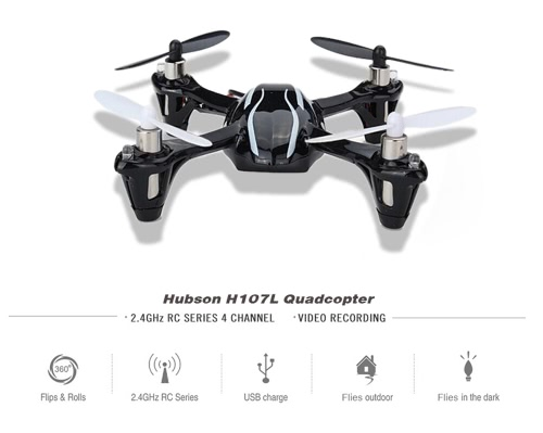 Buy 100% Original Hubsan H107L X4 2.4G 4CH 6Axis RTF Radio Control Mini RC UFO Quadcopter Toys (Hubsan Quadcopter;H107 Quadcopter;2.4G Toys)