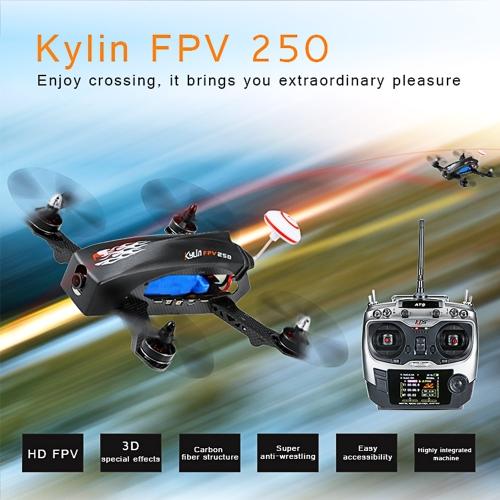 Buy Original KDS Kylin FPV 250 Carbon Fiber Racing Drone RC Quadcopter 800TVL HD Video Camera