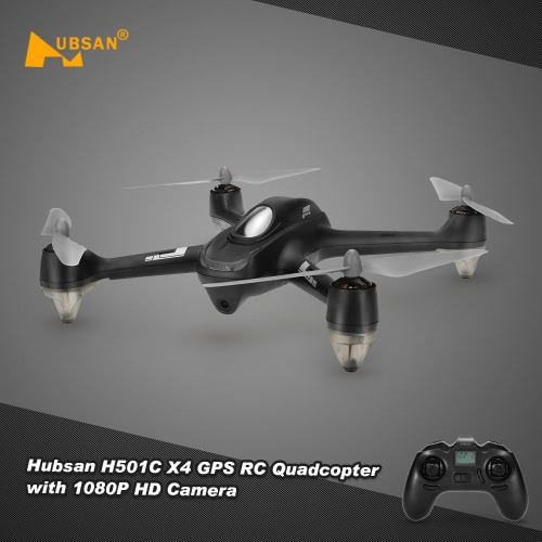 Buy Original Hubsan H501C X4 Drone Brushless GPS Altitude Hold Mode RC Quadcopter 1080P HD Camera Automatic Return