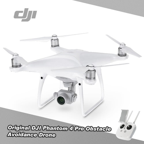 Buy Original DJI Phantom 4 Pro Obstacle Avoidance Drone FPV RC Quadcopter 4K 1'' CMOS Camera RTF