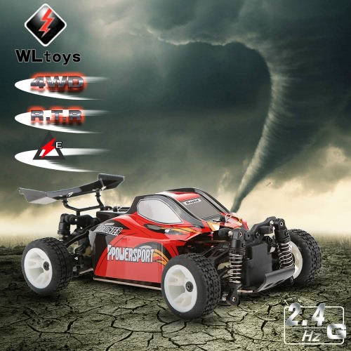 WLtoys A202 1/24 2.4G Electric Brushed 4WD RTR RC Car