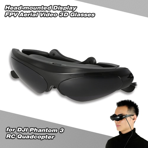 Head-mounted Display FPV Aerial Video 3D Glasses for DJI Phantom 3 RC Quadcopter