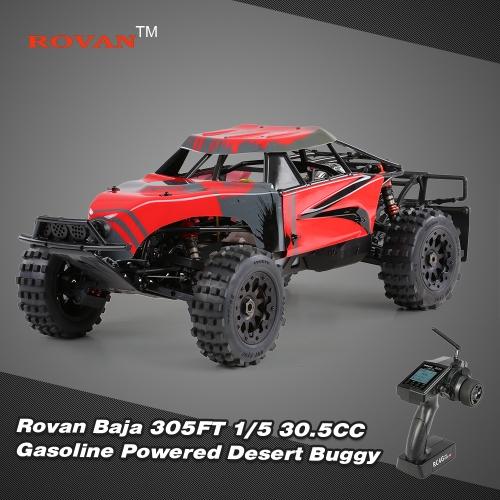 Buy Original Rovan Baja 305FT 1/5 2.4Ghz RWD 30.5CC Gasoline Powered Desert Buggy RTR Remote Control Car