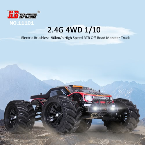 Buy Original JLB Racing 11101 1/10 2.4G 4WD Electric Brushless 90km/h High Speed Off-road Monster Truck RTR RC Car