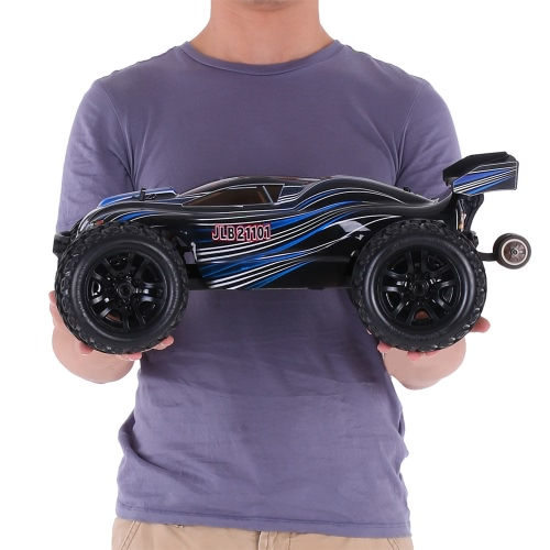 Buy Original JLB Racing 21101 1/10 2.4G 4WD Electric Brushless 80km/h High Speed Off-road Truggy Monster Truck RTR RC Car