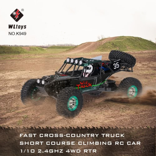 Buy WLtoys K949 1/10 Electric Cross-country Truck Fast Short Course Climbing RC Car 2.4Ghz 4WD RTR