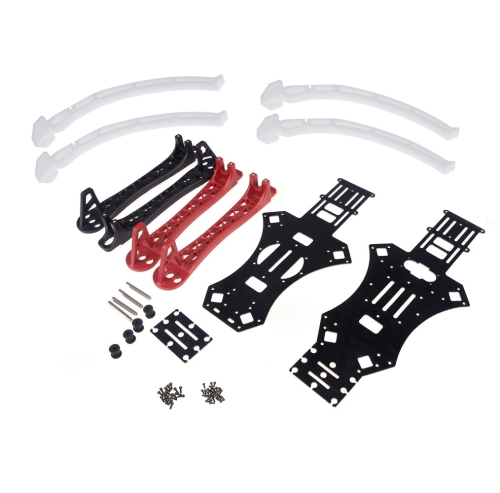 Buy MWC X-Mode Alien 450 Quadcopter Frame Red & Black / Heighten Broaden Landing Gear Skids (MWC Frame,Multicopter Skids)