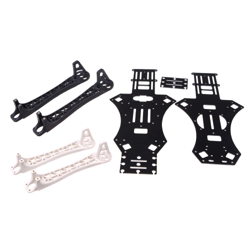 Buy MWC X-Mode Alien 450 Quadcopter Frame Black & White Heighten Broaden Landing Gear Skids (MWC Frame,Multicopter Skids)