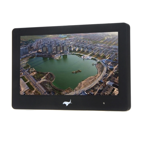 7-inch Hight Bright LED Monitor w/ Built-in 5.8G Dual Receiver and DVR for Sharp Vision FPV Ground Station