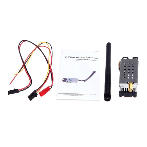 Buy 5.8G 1000MW 1W TS581000 Video AV Audio Wireless 8CH Transmitter Sender FPV