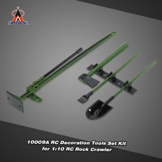 Buy AUSTAR 10008A RC Decoration Tools Set Kit Accessories 1:10 Rock Crawler