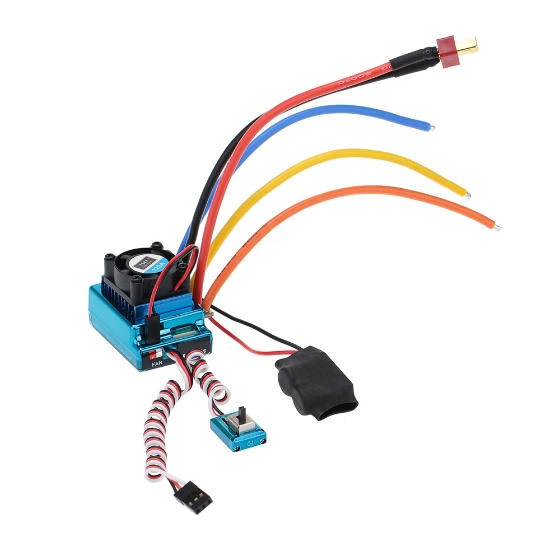 Buy 120A Sensored Brushless Speed Controller ESC 1/8 1/10 1/12 Car Crawler