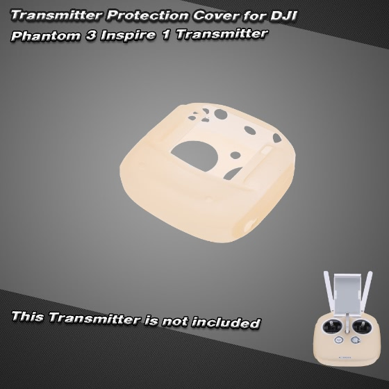 Buy Champagne Silica Gel Transmitter Protection Cover DJI Phantom 3 Inspire 1