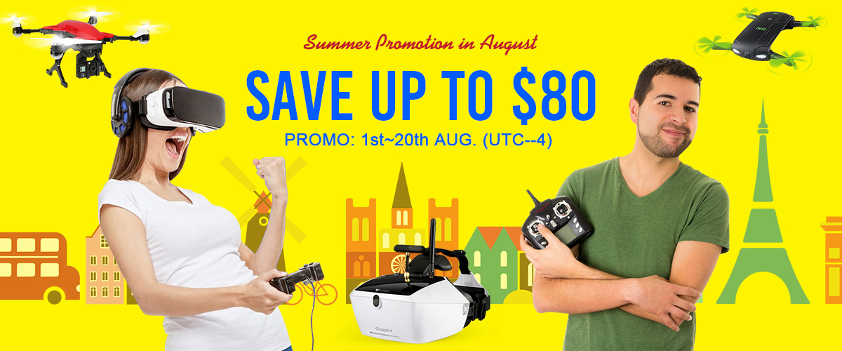 Summer Promotion of August