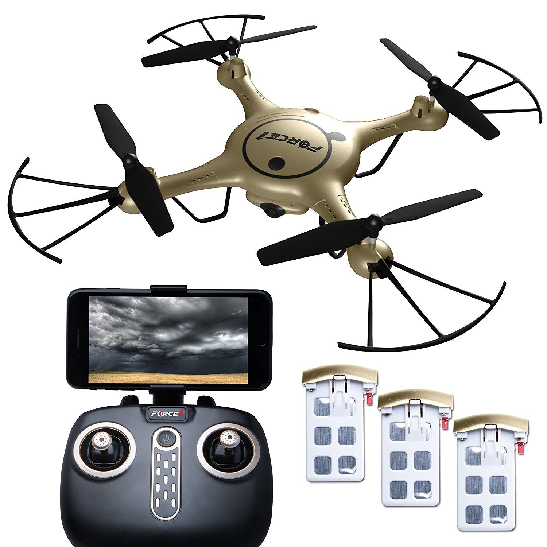 Force1 RC X5UW Thunderbolt WiFi FPV Drone Mit Kamera Live