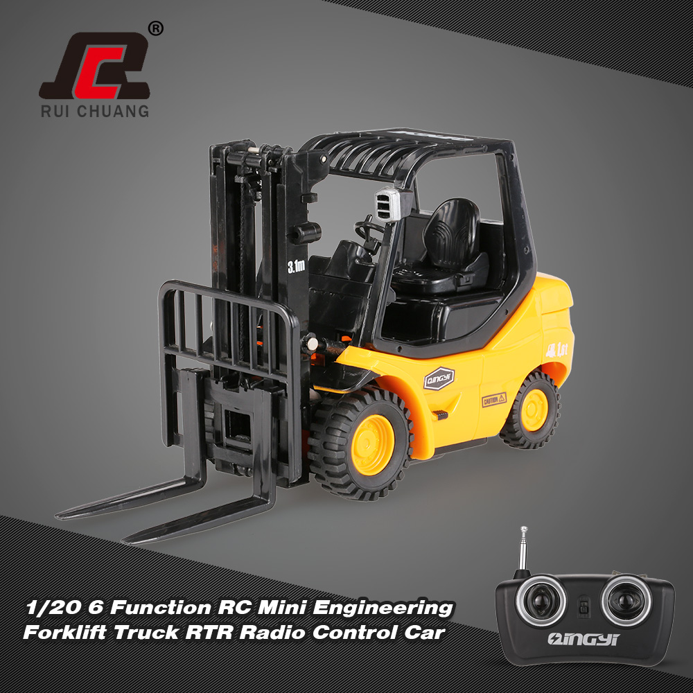 Forklift Truck Controls : Original ruichuang function rc mini engineering