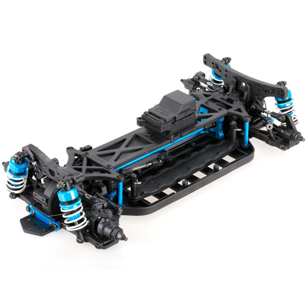 1/10 4WD Electric On-Road Drift Racing Car Frame Kit