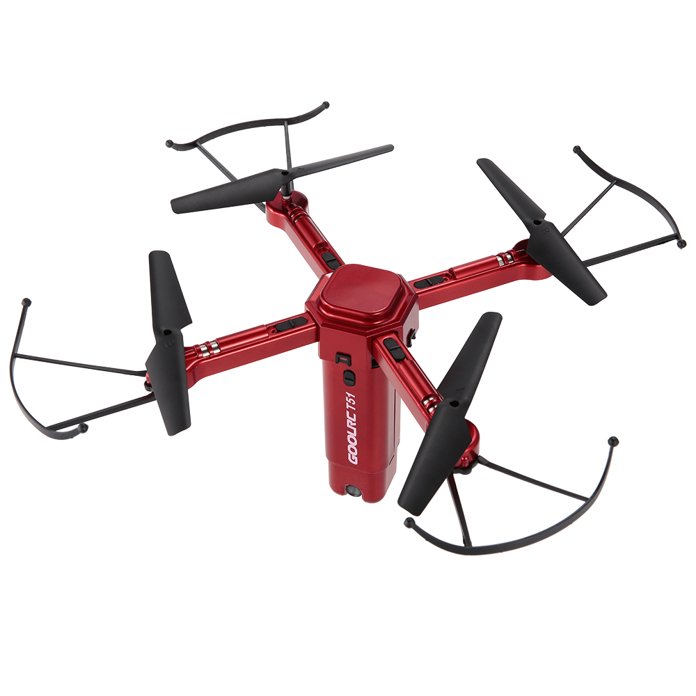 Only $52.99 For GoolRC T51 Rocket 360 2.4G 720P Camera Drone with code T517
