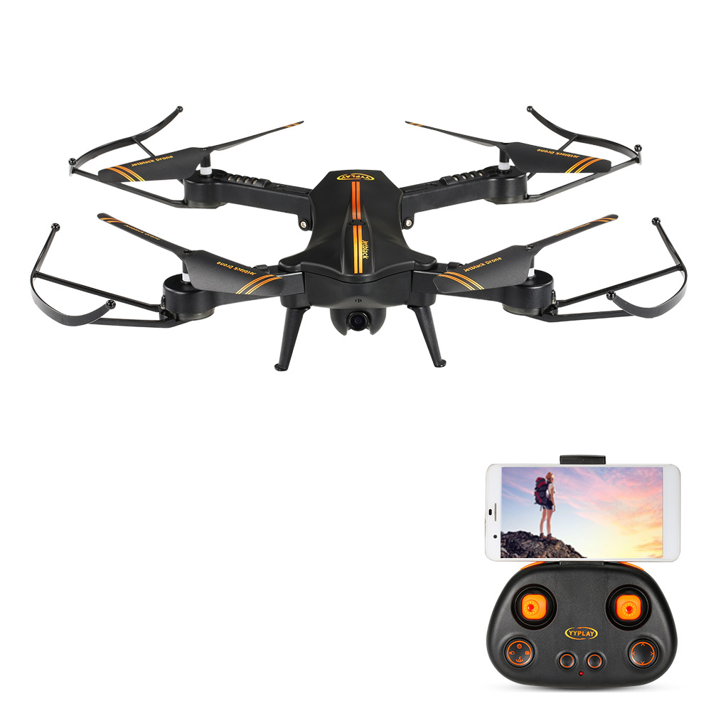Only $48.99 For Jetblack 720P 120° Angle Camera Drone with code EJ9038