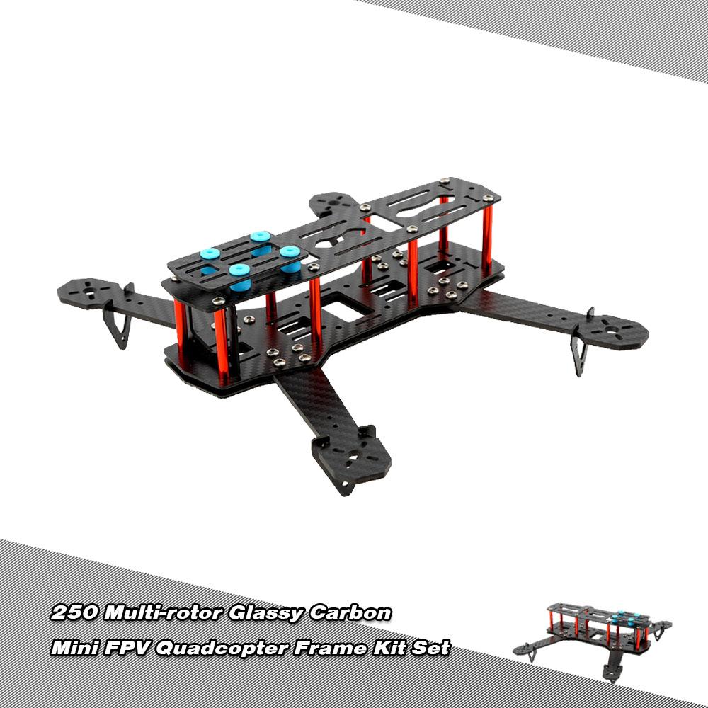 Mini h new carbon fiber fpv racing drone quadcopter