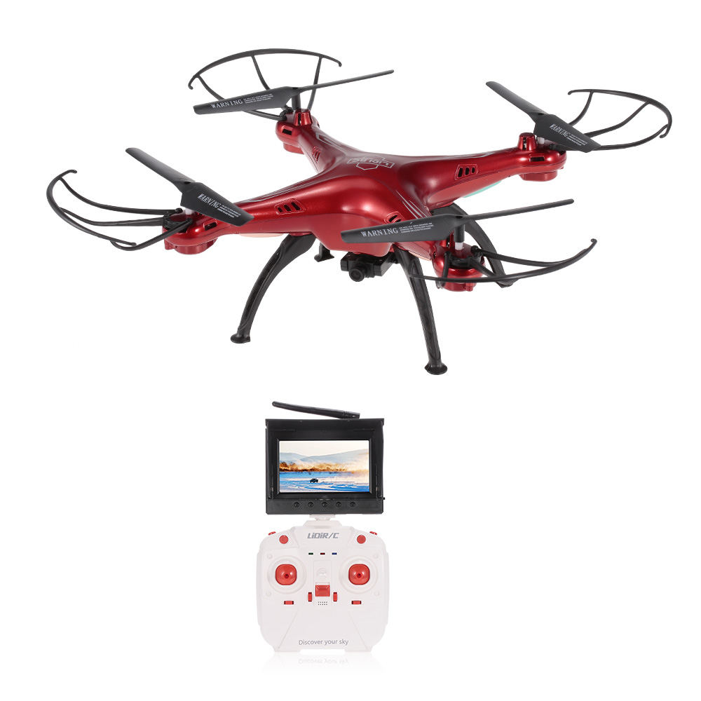 Get 5$ off  LiDi RC  5.8G FPV Transmission 720P Camera Altitude Hold RC Quadcopter