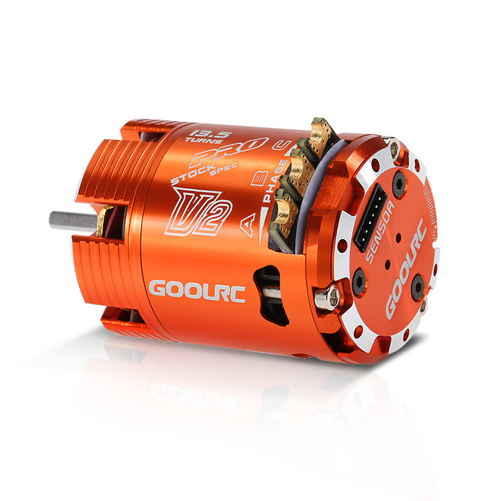 Goolrc 540 13 5t spec 3050kv sensored brushless timing for Electrical motor controls for integrated systems fifth edition