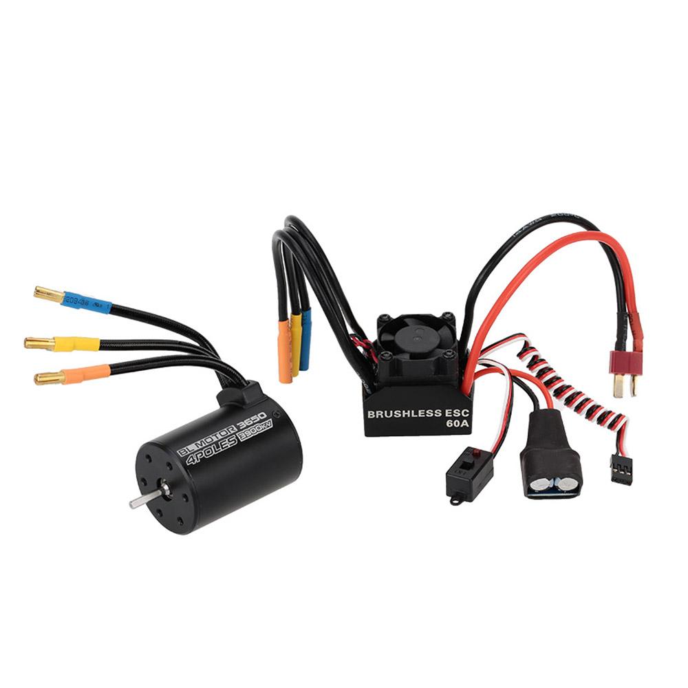 3650 3900kv 4p sensorless brushless motor 60a brushless for Brushless motor speed control