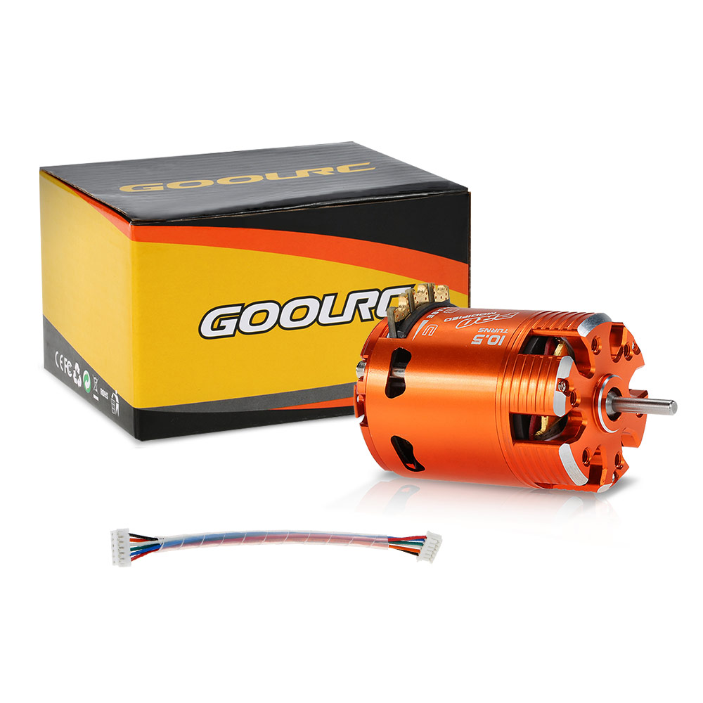 goolrc 540 10 5t modified 3450kv sensored brushless temporisation moteur r glable pour voiture 1. Black Bedroom Furniture Sets. Home Design Ideas