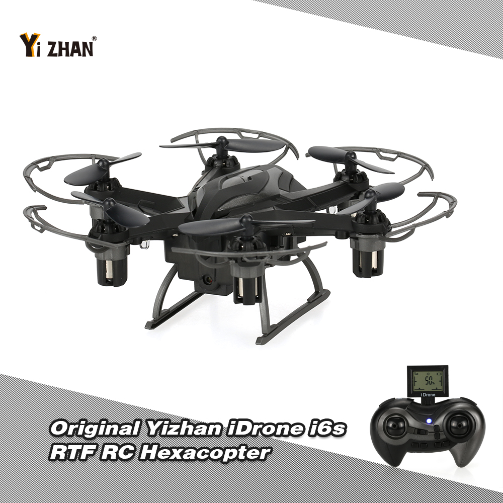 Only $36.99 For Yizhan iDrone i6s 2MP Camera RC Hexacopter with code EJ8408