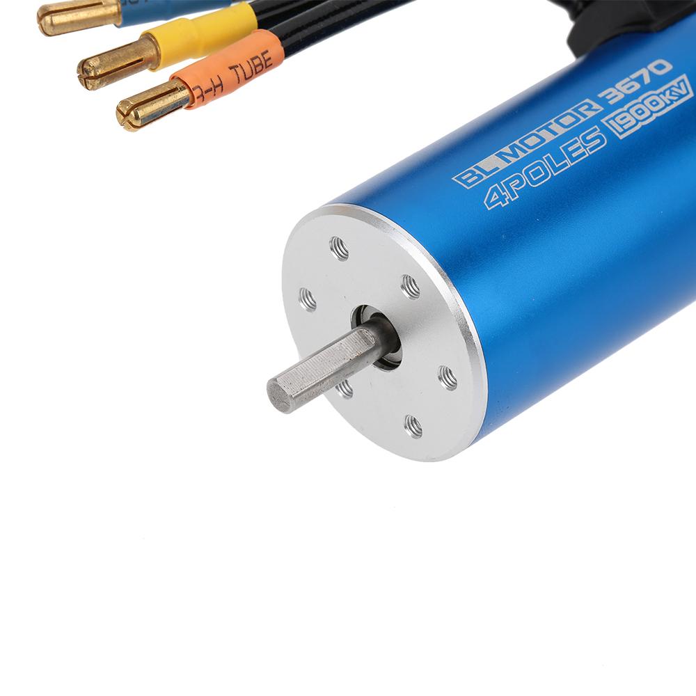 3670 1900kv 4 Poles Sensorless Brushless Motor For 1 8 Rc