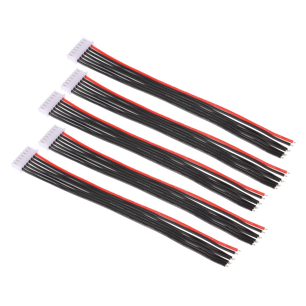 5pcs 22awg 22 2v 6s lipo battery balance chargeur c ble de c ble c ble silicone pour rc. Black Bedroom Furniture Sets. Home Design Ideas