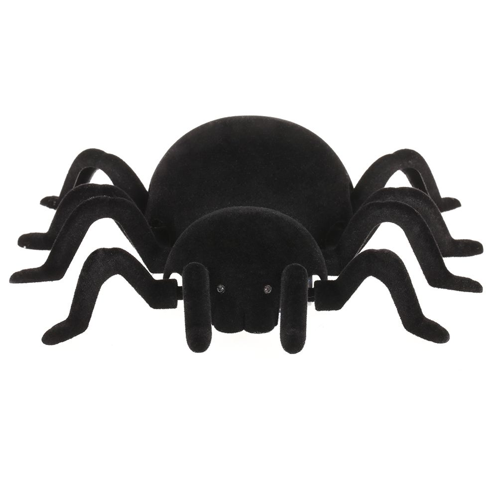 radio control rc simulation furry electronic spider scary scream wall climbing spider toy kids gift halloween surprise - Kids Halloween Radio