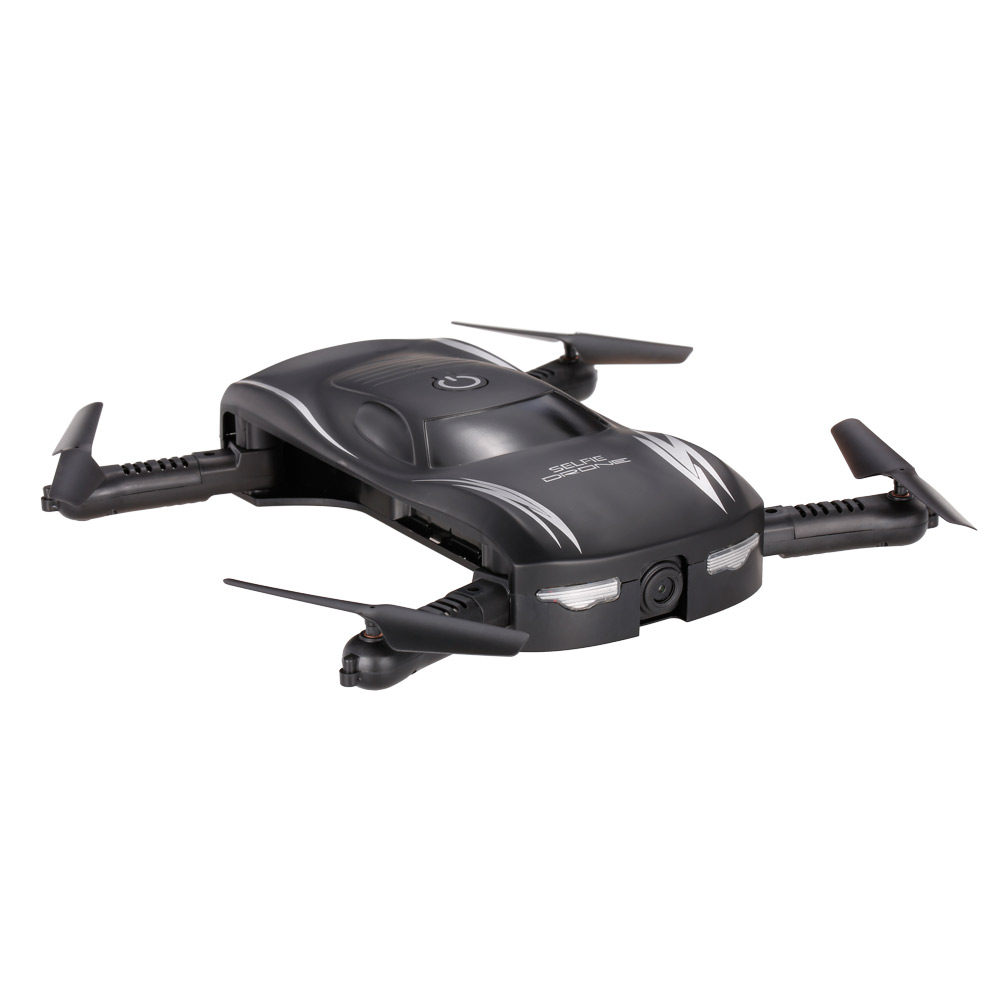 X185 0.3MP Camera Wifi FPV Foldable Pocket Drone  for $21.99