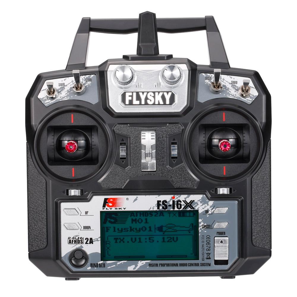 Flysky FS-i6X 2.4GHz 6CH AFHDS 2A RC Transmitter Remote ...