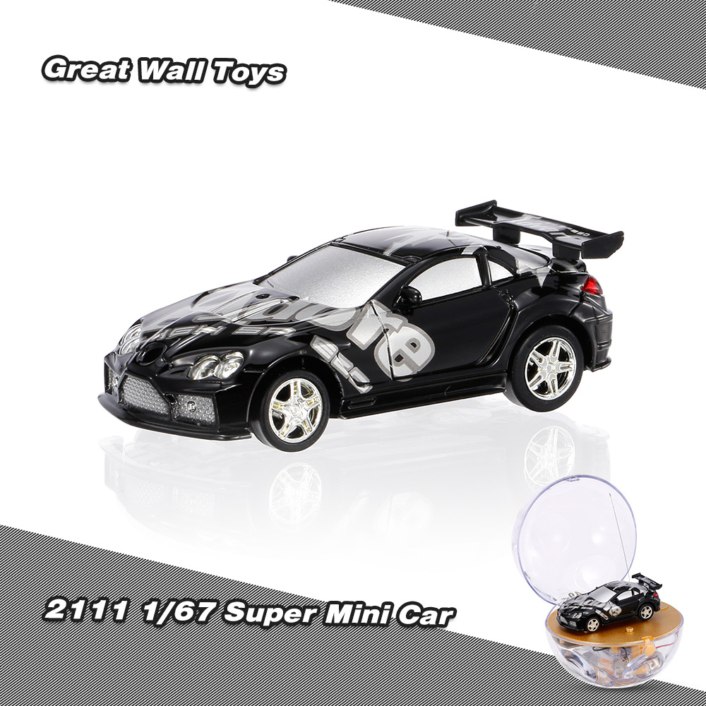 black great wall toys 2111 1 67 super mini rc car with magnifier sphere package collection toys. Black Bedroom Furniture Sets. Home Design Ideas