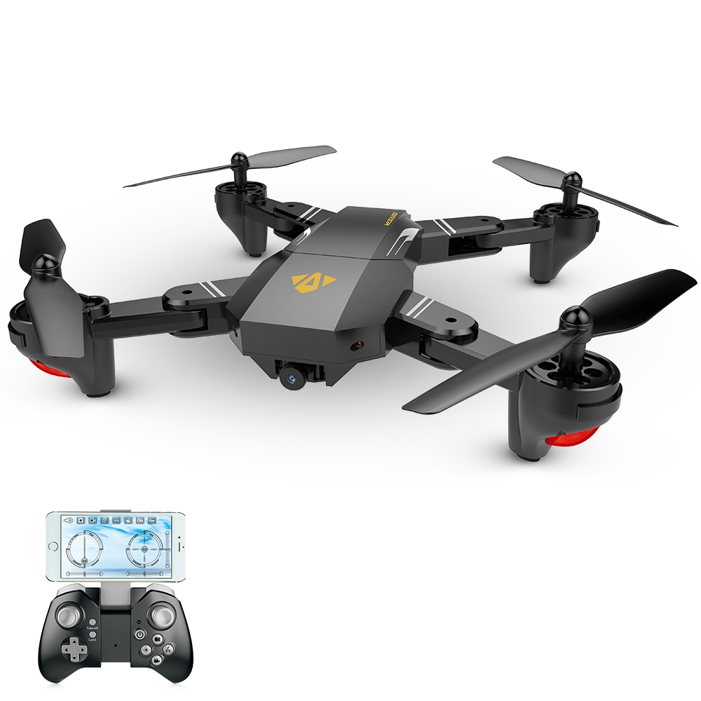 Only $49.99 For VISUO XS809HW Camera Drone with code EJ3632