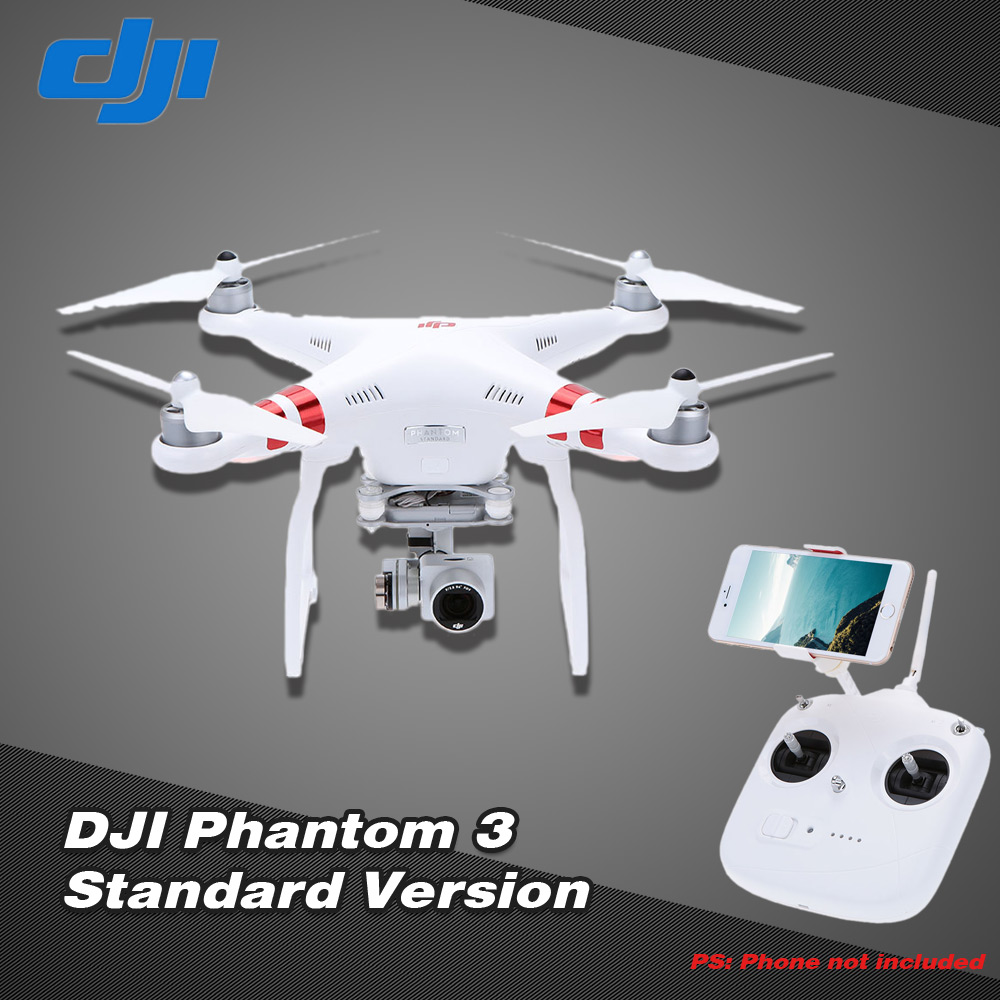 uk dji phantom 3 standard version fpv rc quadcopter with 2 7k hd camera auto hover live gps auto. Black Bedroom Furniture Sets. Home Design Ideas