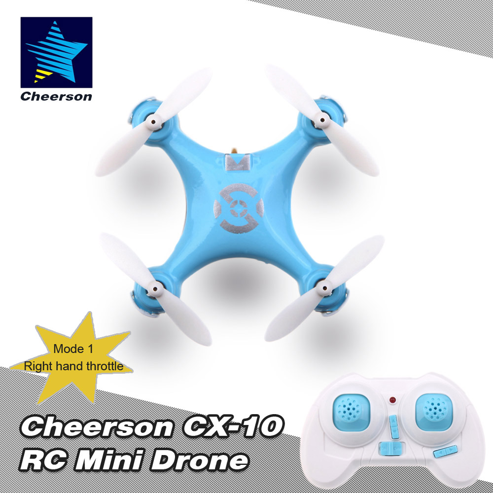 Only $16.54 For Cheerson CX-10 RTF Mini Drone with code EJ7277