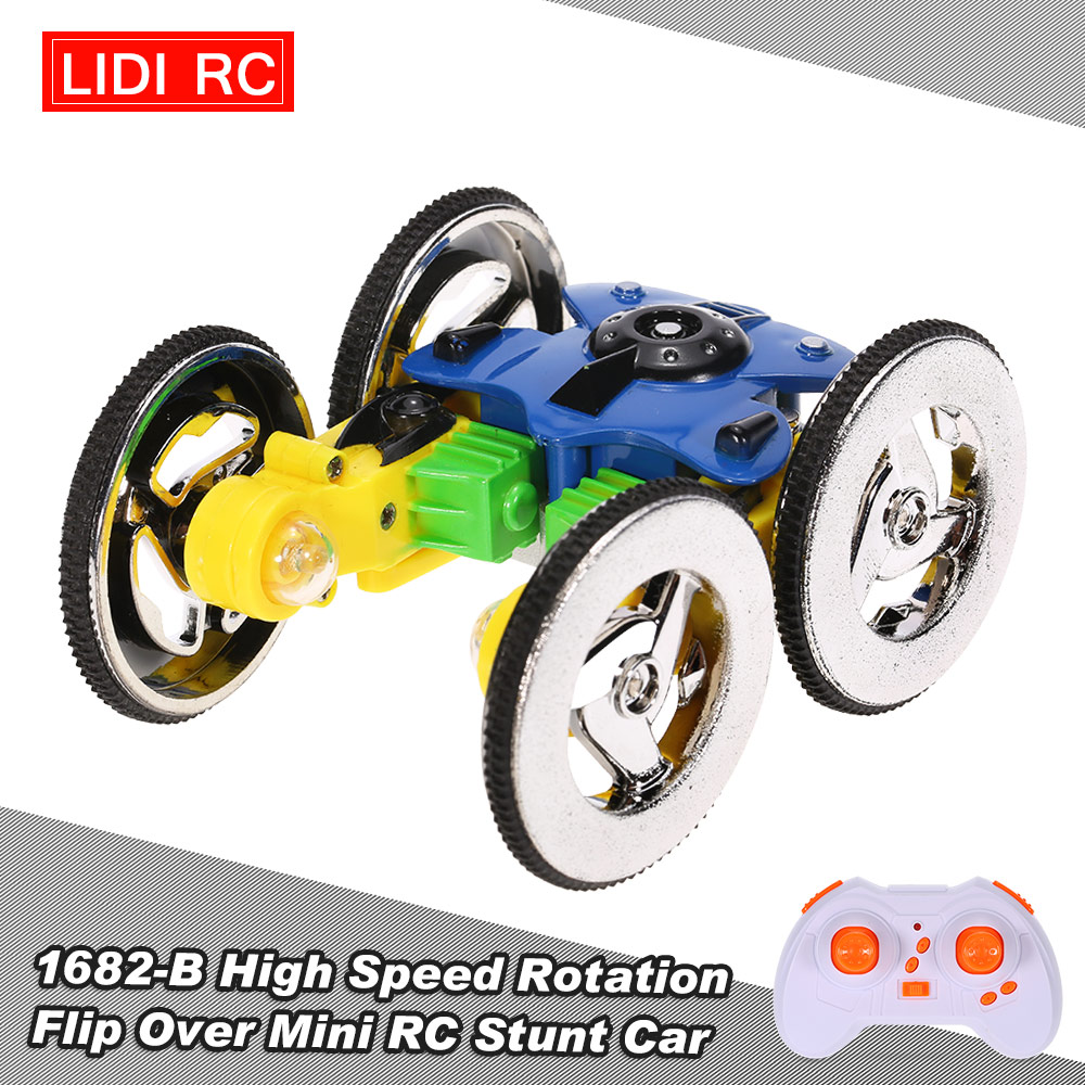Toy Cars That Flip Over : Rc flip over stunt car remote control helicopter