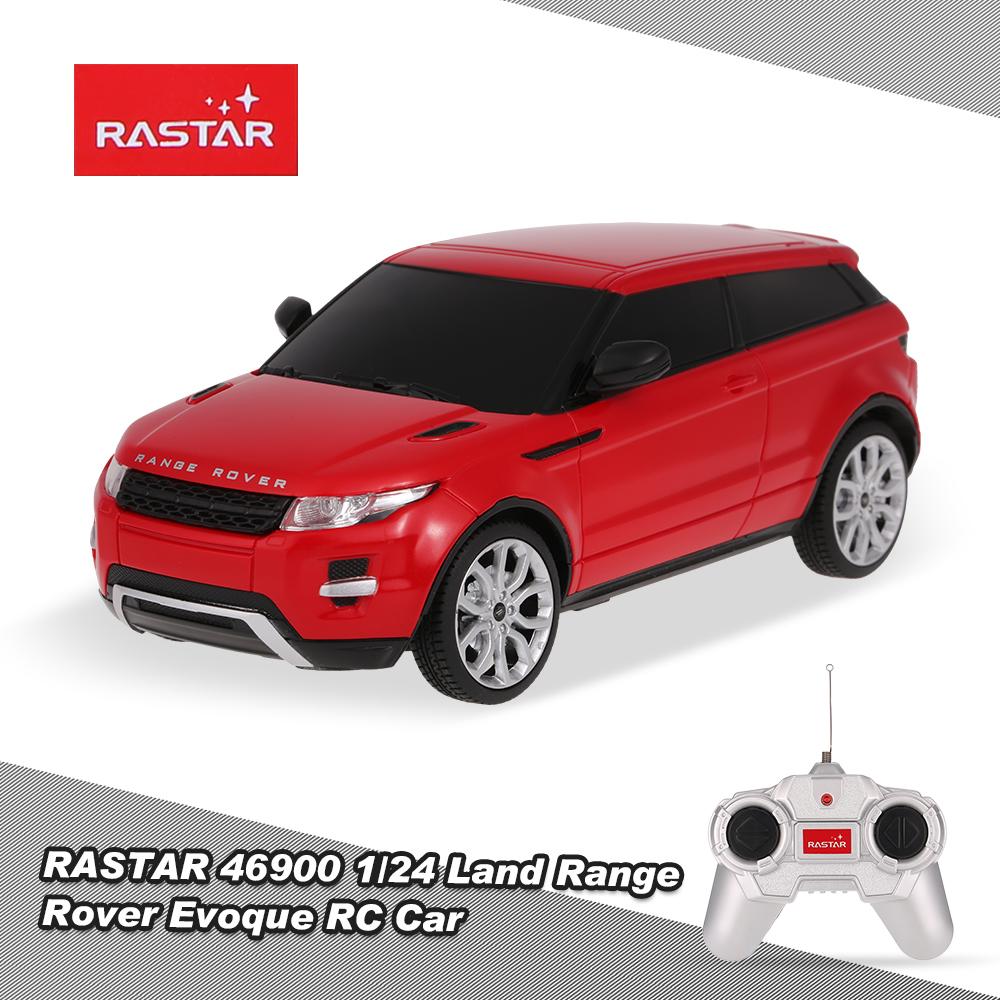red RASTAR 46900 1/24 RC Land Range Rover Evoque Remote ...