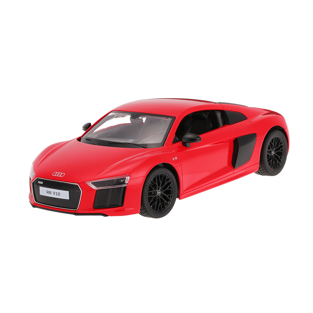 rastar 74400 1 14 audi r8 t l command sport racing car rtr rc voiture. Black Bedroom Furniture Sets. Home Design Ideas