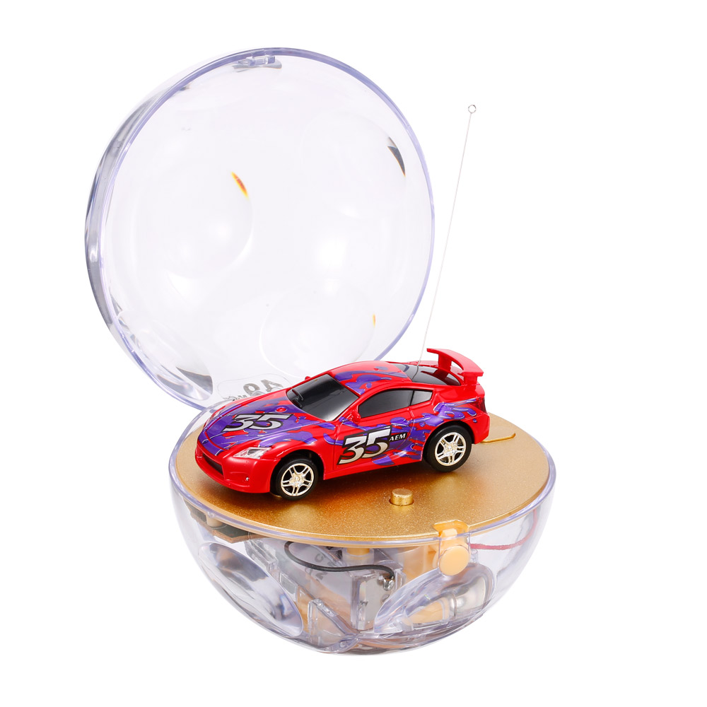 red great wall toys 2111 1 67 super mini rc car with magnifier sphere package collection toys. Black Bedroom Furniture Sets. Home Design Ideas